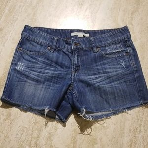 NEW LIST-Forever 21 Distressed Cutoff Jean Shorts